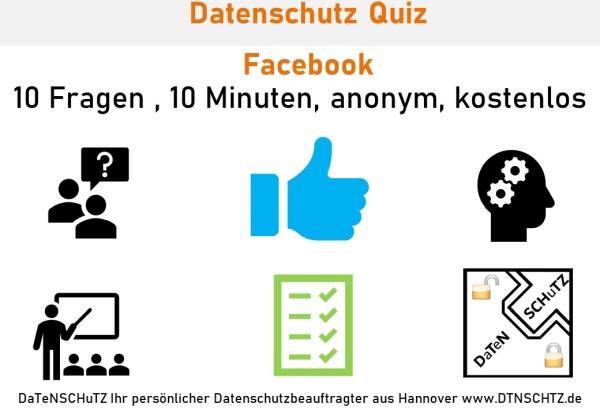 Kostenloses Quiz Facebook Einstellung(en) Datenschutz