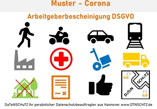 Arbeitgeberbescheinigung Passierschein Kostenloses Muster PDF