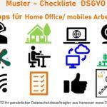 Tipps Home Office Regeln Datenschutz Checkliste PDF kostenlos