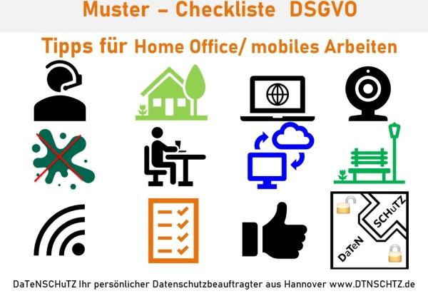 Tipps wegen Home office Regeln_Datenschutz Checkliste Corona