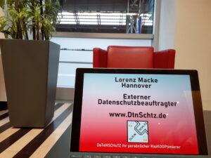 Datenschutzbeauftragter DB Lounge Köln Lorenz Macke Hannover Datenschutz extern
